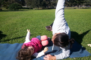 mums and bubs fitness centennial park
